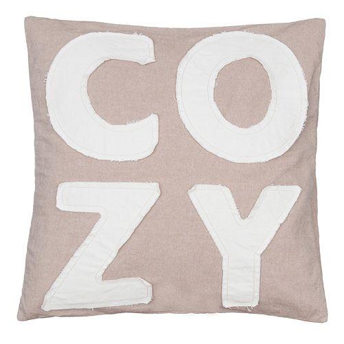 ''Cozy'' Throw Pillow