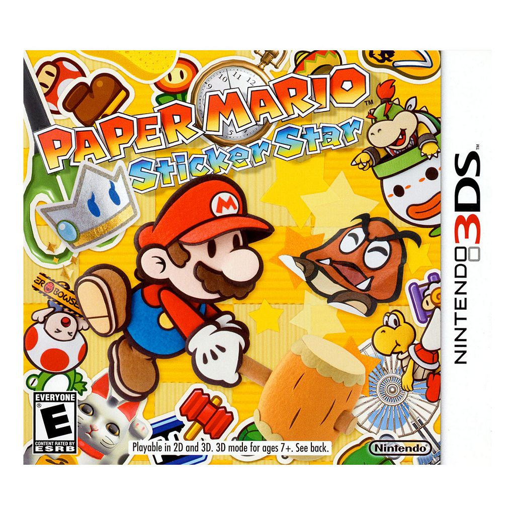 Paper Mario: Sticker Star for Nintendo 3DS