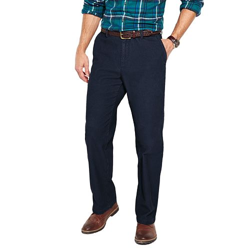 Big & Tall Croft & Barrow® Flat-Front Corduroy