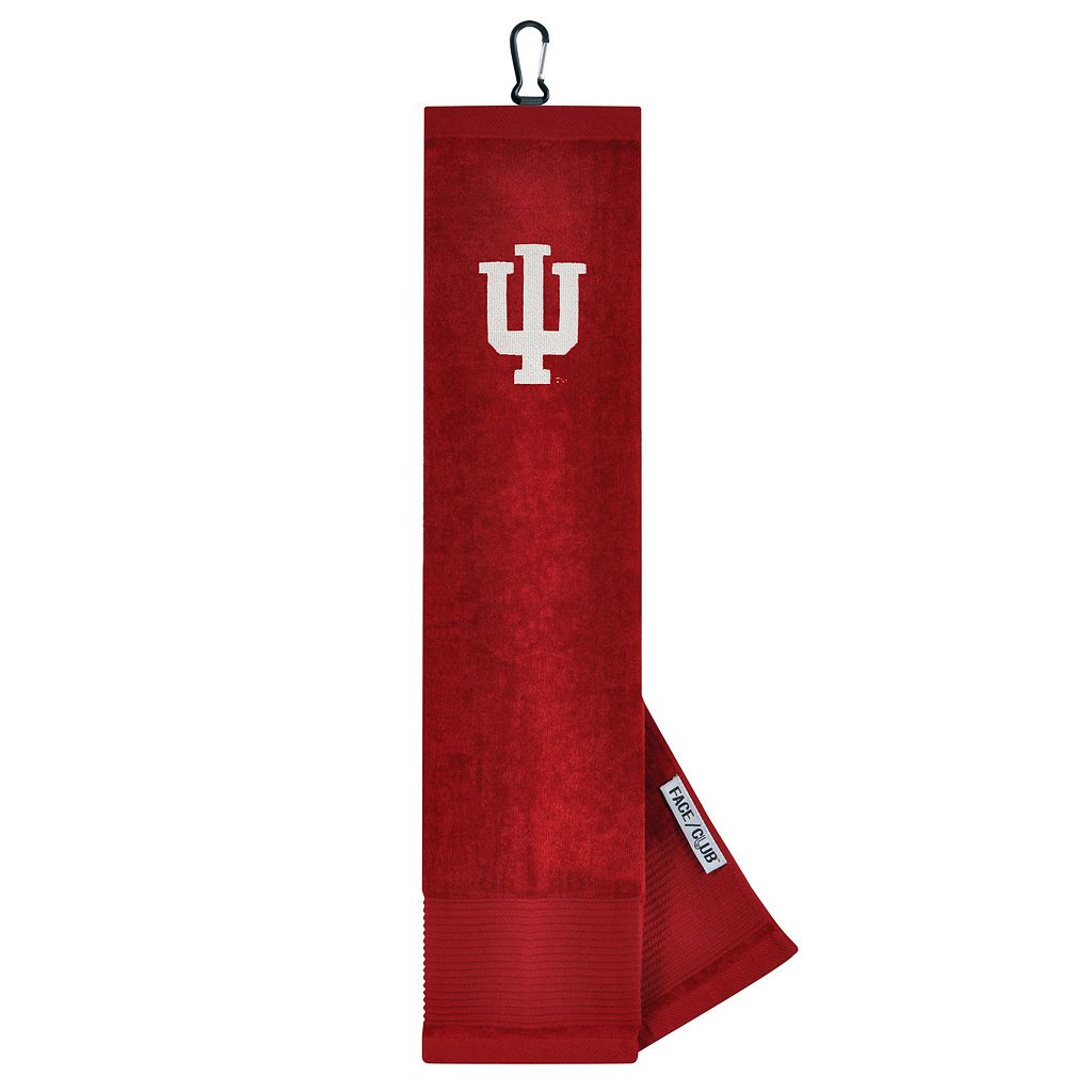 Team Effort Indiana Hoosiers Tri-Fold Golf Towel