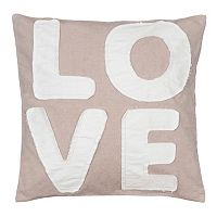 ''Love'' Throw Pillow