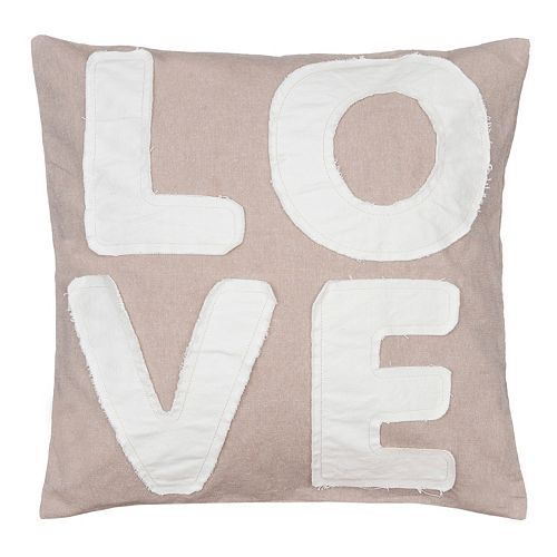 ''Love'' Throw Pillow