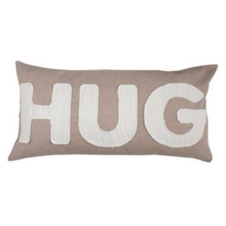 ''Hug'' Throw Pillow