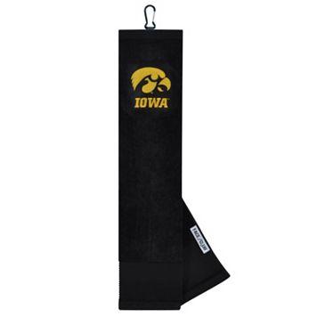 Team Effort Iowa Hawkeyes Tri-Fold Golf Towel
