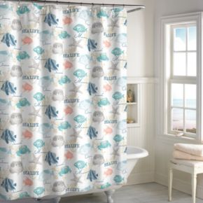 Destinations Seaside Bay Shower Curtain