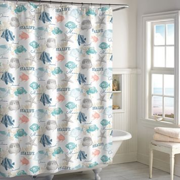 Destinations Seaside Bay Shower Curtain