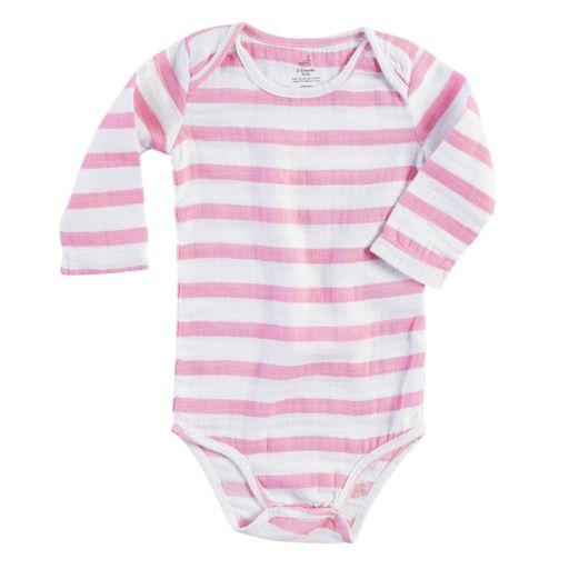 Baby Girl aden + anais Long-Sleeve Bodysuit