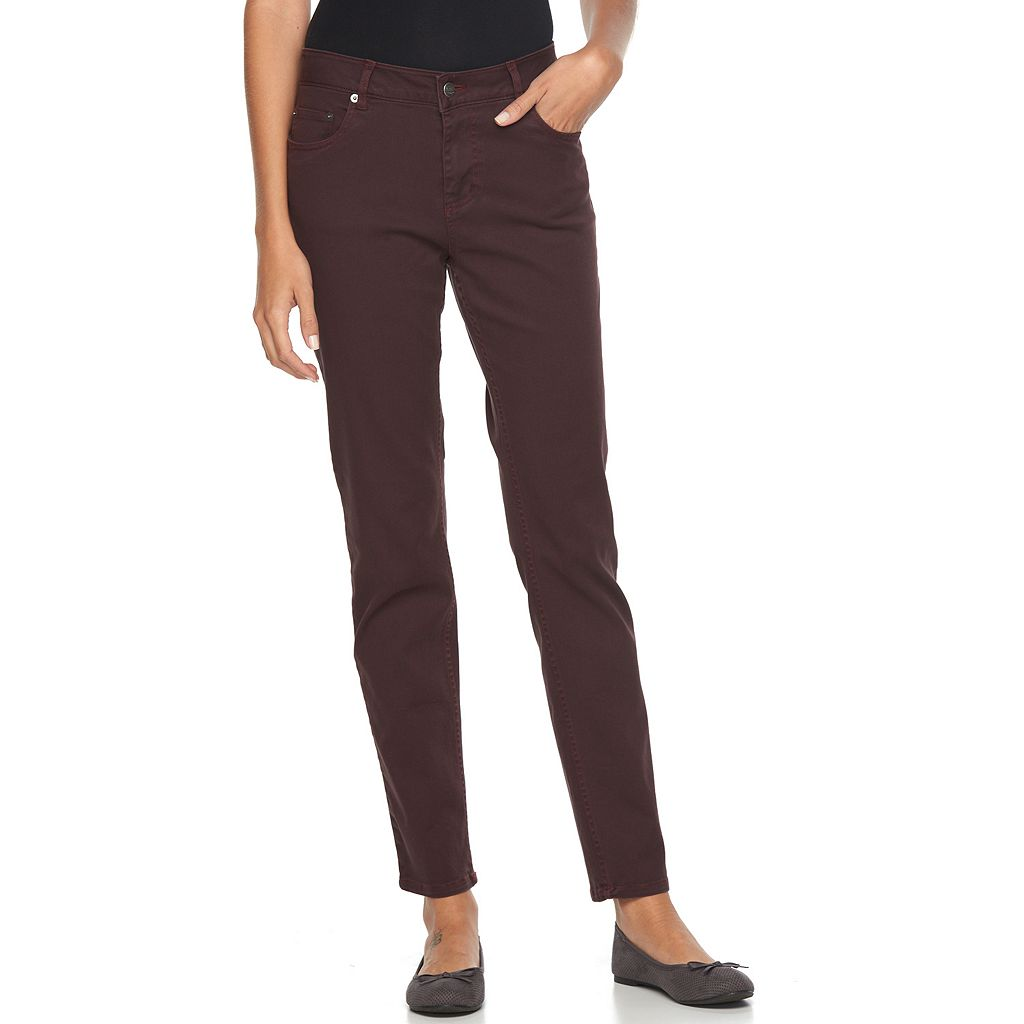 Women's Woolrich 1830 Color Slim Fit Jeans