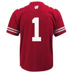 Boys 4-7 adidas Wisconsin Badgers Replica Football Jersey