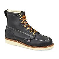 Thorogood American Heritage Men's Moc-Toe Leather Work Boots