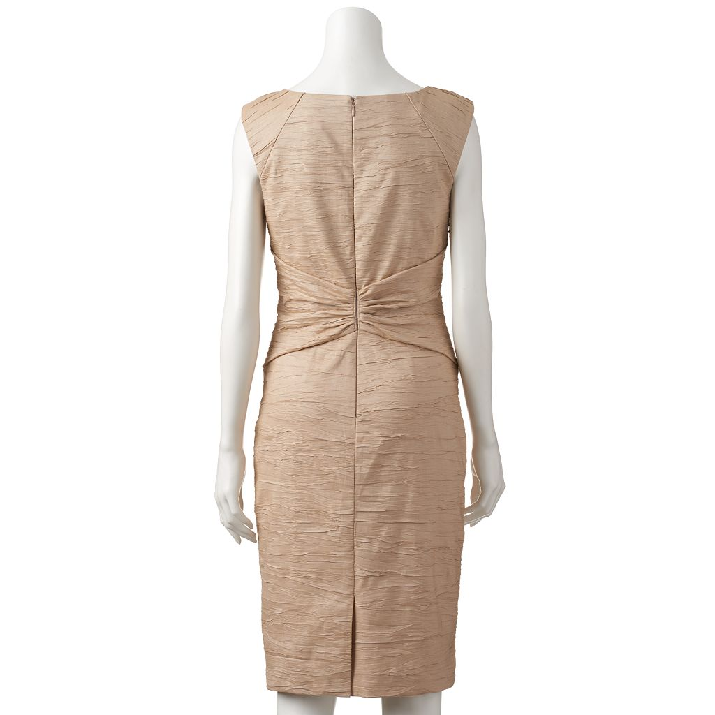 Women's Jessica Howard Embellished Knot-Front Dress