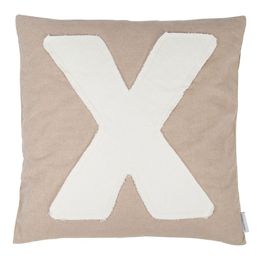 Kiss ''X'' Throw Pillow