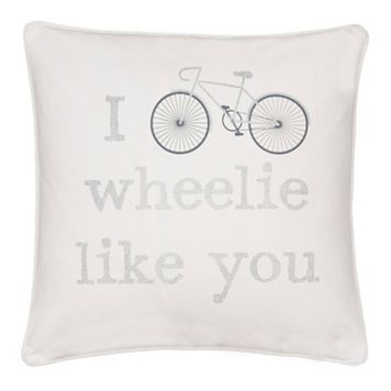 ''I Wheelie Like You'' Throw Pillow