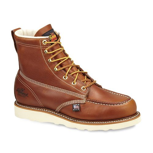 Thorogood American Heritage Men's Leather Steel-Toe Work Boots