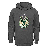 Boys 4-7 adidas Milwaukee Bucks Fleece Hoodie