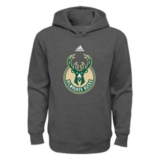 Boys 4-7 adidas Milwaukee Bucks Fleece Hoodie