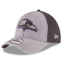 Adult New Era Baltimore Ravens Neo Grayed Out 39THIRTY Flex-Fit Cap