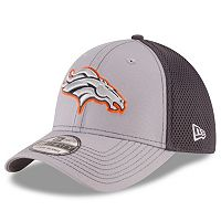 Adult New Era Denver Broncos Neo Grayed Out 39THIRTY Flex-Fit Cap