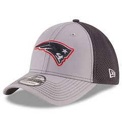 Adult New Era New England Patriots Neo Grayed Out 39THIRTY Flex-Fit Cap