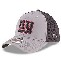 Adult New Era New York Giants Neo Grayed Out 39THIRTY Flex-Fit Cap