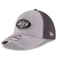 Adult New Era New York Jets Neo Grayed Out 39THIRTY Flex-Fit Cap