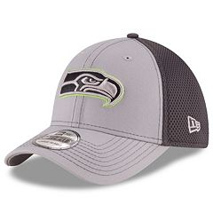 Adult New Era Seattle Seahawks Neo Grayed Out 39THIRTY Flex-Fit Cap