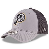 Adult New Era Washington Redskins Neo Grayed Out 39THIRTY Flex-Fit Cap