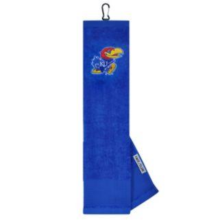 Team Effort Kansas Jayhawks Tri-Fold Golf Towel