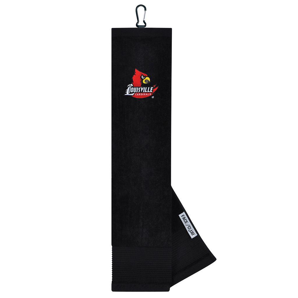Team Effort Louisville Cardinals Tri-Fold Golf Towel