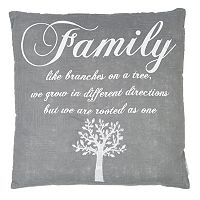 ''Family'' Throw Pillow