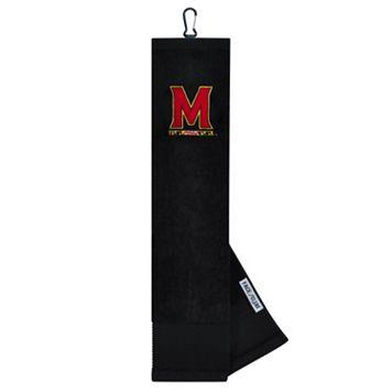 Team Effort Maryland Terrapins Tri-Fold Golf Towel