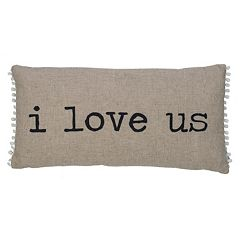 ''I Love Us'' Throw Pillow