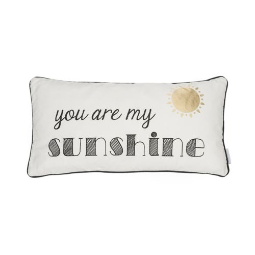 """You Are My Sunshine"" Oblong Throw Pillow"