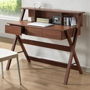 Baxton Studio Crossroads II Writing Desk