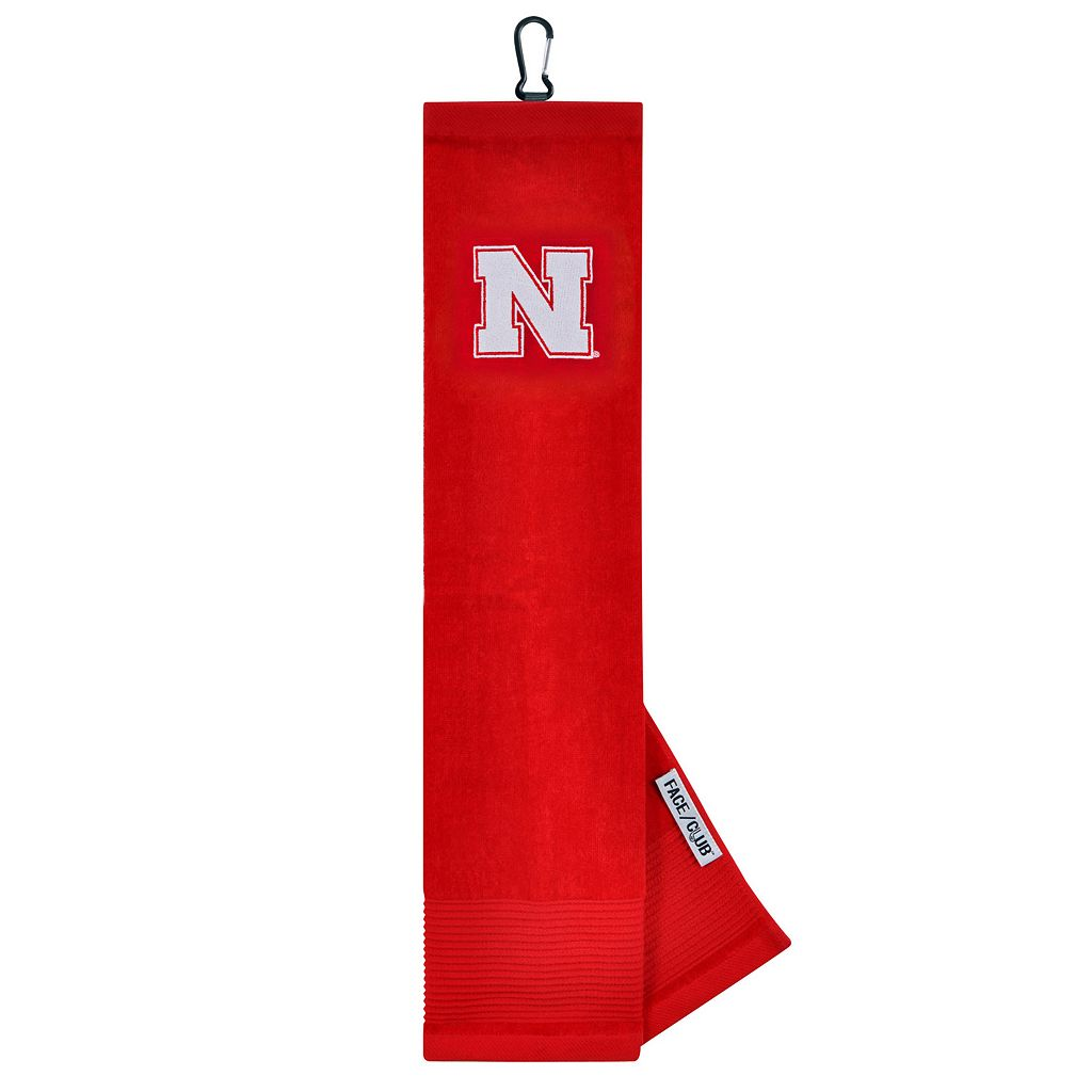 Team Effort Nebraska Cornhuskers Tri-Fold Golf Towel