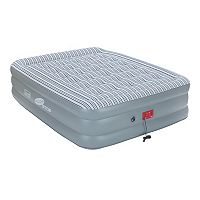 Coleman Pillow Top Double-High Queen Air Mattress with Swiftrise Pump