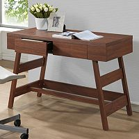 Baxton Studio Trapezoid Writing Desk