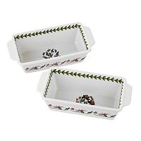 Portmeirion Botanic Garden 2 pc Rectangular Baker Set