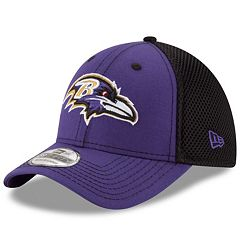 Adult New Era Baltimore Ravens 39THIRTY Team Front Neo Fitted Cap