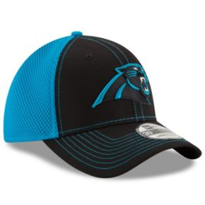 Adult New Era Carolina Panthers 39THIRTY Team Front Neo Fitted Cap