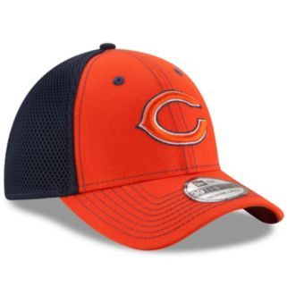 Adult New Era Chicago Bears 39THIRTY Team Front Neo Fitted Cap