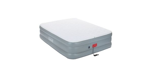 Coleman Quilted Double High Queen Air Mattress With Swiftrise Pump