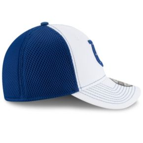 Adult New Era Indianapolis Colts 39THIRTY Team Front Neo Fitted Cap