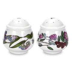 Portmeirion Botanic Garden 2 pc Salt & Pepper Shaker Set