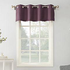 The One Decorative Solid Window Valance