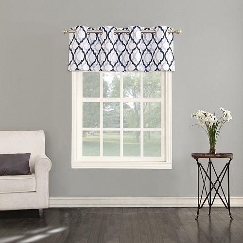 The Big One® Geometric Decorative Window Valance