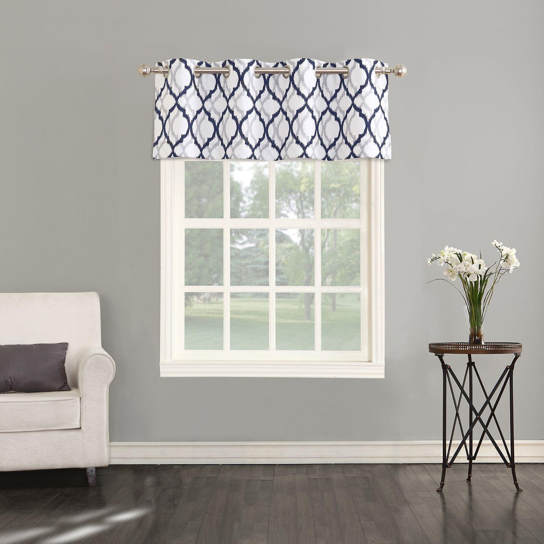 Attirant The Big One® Geometric Decorative Window Valance