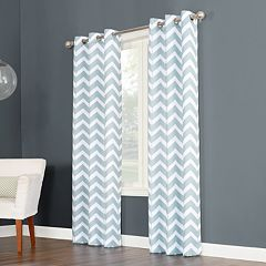 The Big One® Decorative 2-pack Chevron Window Curtains