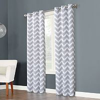 The Big One® 2-pack Chevron Curtains