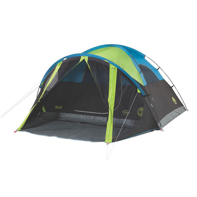 Coleman® 4-Person Dark Room Tent with Screen Room in Green/Black